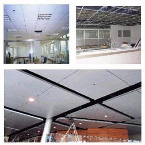 False Ceiling & Aluminium Partition Framing - False Ceiling ...