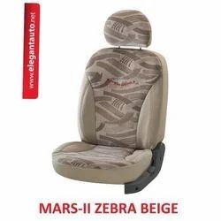 Mars Zebra Design Car Seat Covers