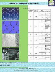 Maxima Hexagonal Wire Mesh