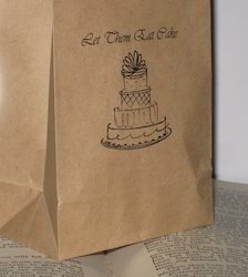 Kraft Paper Bags For Packing Cakes