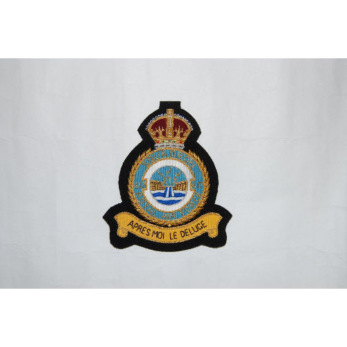 RAF 617 SQN Blazer Badge