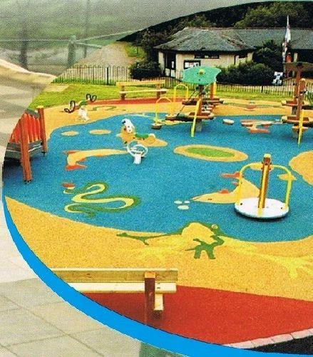 Children Play Area Rubber Flooring