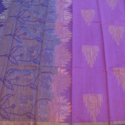 Kora Silk With Embosed Jute and Jari Sarees