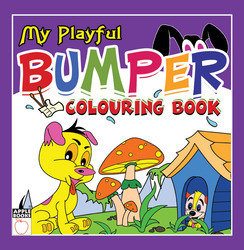 My Playful Bumper Coloring Book - Purple