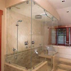 glass shower enclosure works