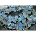 Blue Flash Moonstone Faceted Cut Stone Briolettes