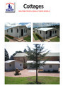 Pvc Prefabricated Houses , Offices And Porta Cabins