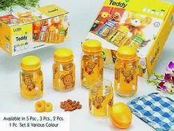 Teddy Storage Jars