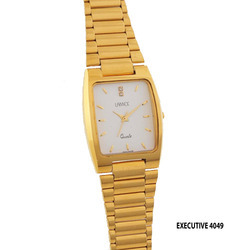 Men's Executive Golden Chain Watch