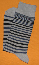 AOV /MN/ST/7A Men Stripe Socks