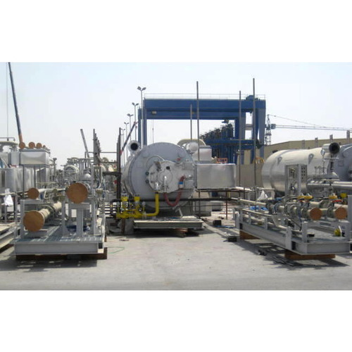 Horizontal Thermic Fluid Heaters