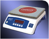silver weighing scales