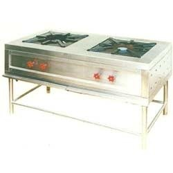 Two in One Burner Gas Range