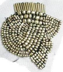 Metal Beaded Patch