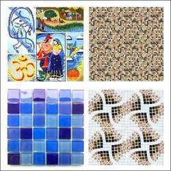 Tile Murals, Glass Mosaic Tiles