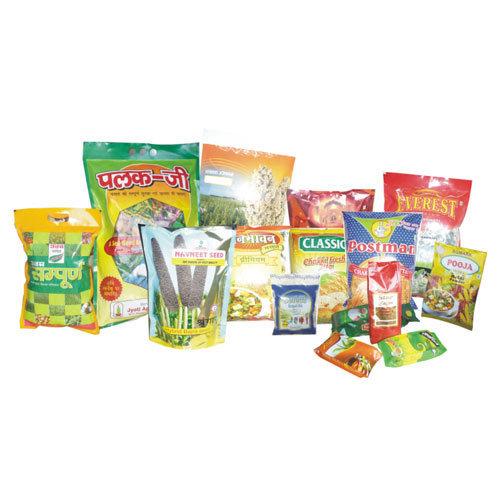 Printed & Laminated Food Packaging Materials