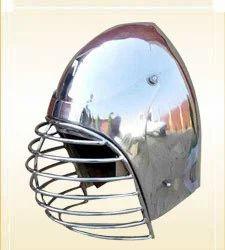 German Bascinet Helmet