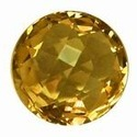 Briolite Round Citrine