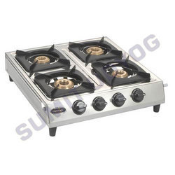Supreme Four Burner Gas
