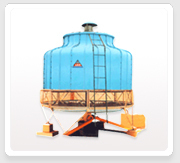 Frp Round Bottle Shape Cooling Towers
