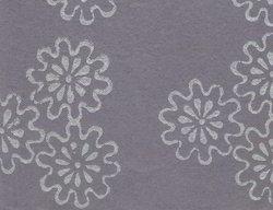 Floral Design Block Printed Handmade Paper