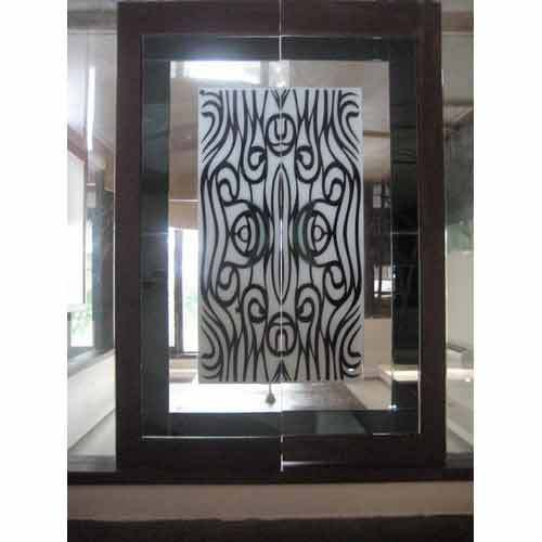 Lacqured & Lacqured Etching Glass