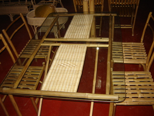 how to make bamboo furniture. Bamboo Dining Table How To Make Furniture W