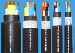 Four Core Cable with Copper Conductor