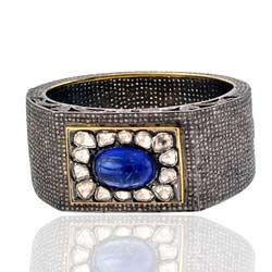 Pave Diamond Wide Bangles