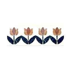 Flower Floor Borders Tiles