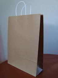 Kraft Paper Bags With Without Logo