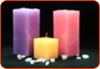 Block Pillar Candle