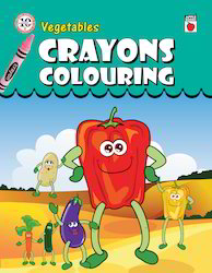 Crayon Coloring Vegetables