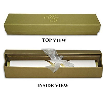 Scroll Invitations Handmade Paper Scroll Invitations Exporter from