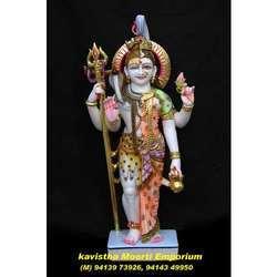 Marble Shiv Ardhanareshwar Statue