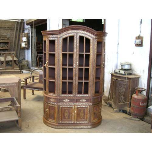Wooden Cabinet Big Crockery Cabinet Manufacturer from Saharanpur