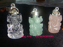gemstone ganesha pendants