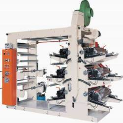 6 Color Flexo Press