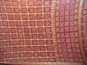 silk real zari gharchola with border pallu