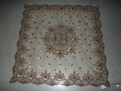 Table Cover Ecru Net
