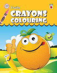 Crayon Coloring Fruits
