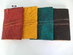 Crushed Leather Journals In Various Colors