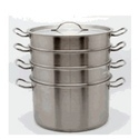 Stainless Steel 4-Tier Steamer