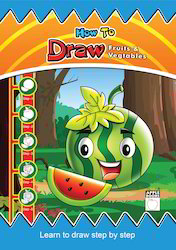 How To Draw Fruits & Vegetables