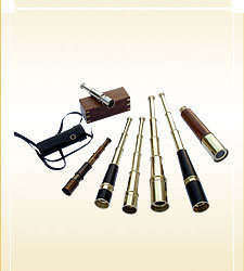 Pullout Telescopes- Optional Leather/ Wood Box