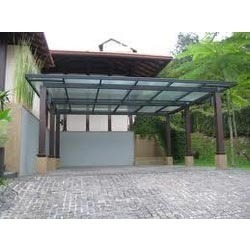 Pics for car porch for Car porch design in kerala