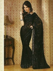 Fancy Black Sarees