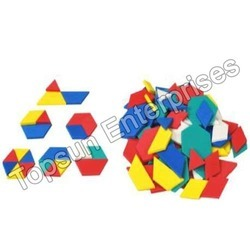 Fraction From Pattern Block