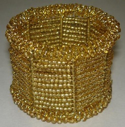 Beaded Napkin Ring NR243