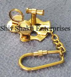 Nautical Sextant Key Chain